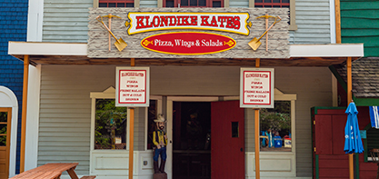 Image of the Klondike Kates sign