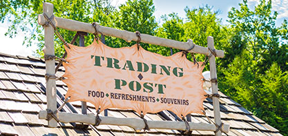Trading Post Sign Photo