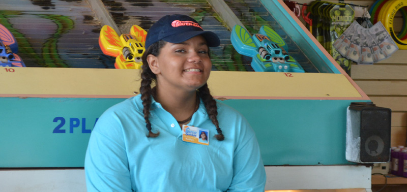Image of an employee smiling at the camera
