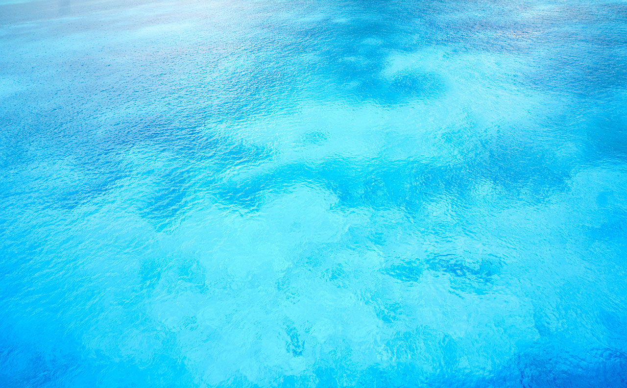 Picture of the water in a pool