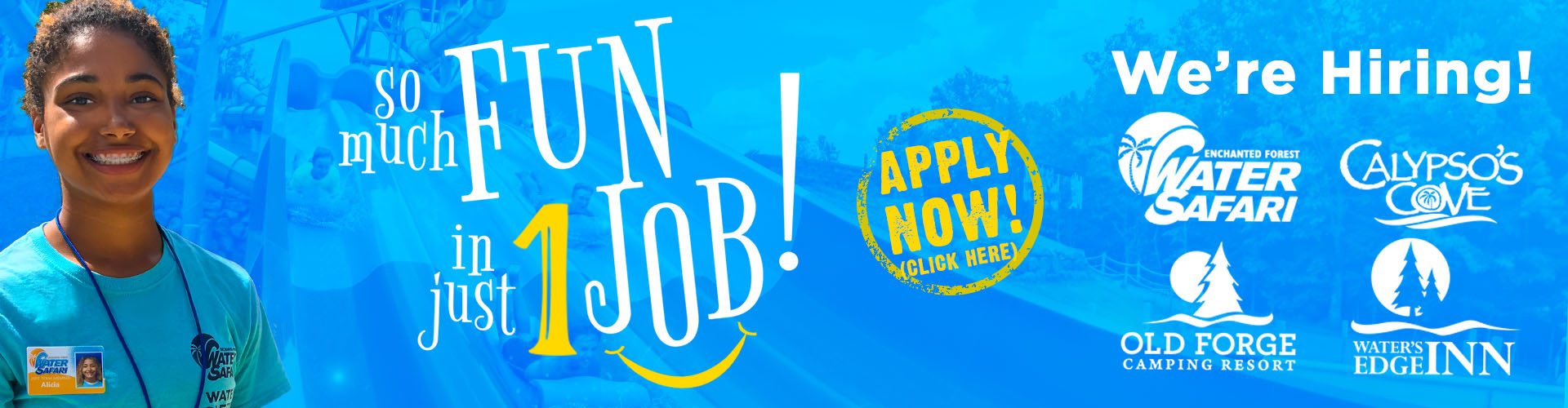 Water Safari Hiring Summer 2021 - Apply Now!